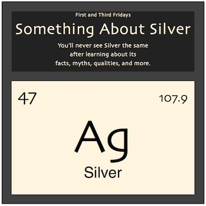 Periodic table qualities welcome something about silver jpg 403 urtaz Gallery